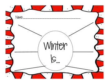 Graphic Organizers and Writing for December!