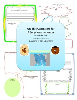 Graphic Organizers for A Long Walk to Water