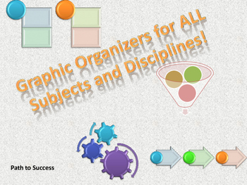 Graphic Organizers for All Subjects and Grade Levels!