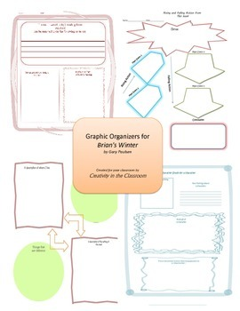 Graphic Organizers for Brian's Winter (Hatchet)