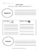 Reading Graphic Organizers: No Prep, Fiction/Non-Fiction T