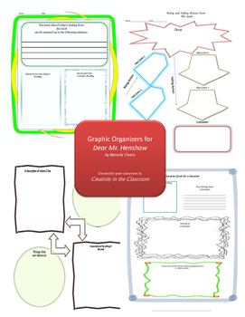 Graphic Organizers for Dear Mr. Henshaw