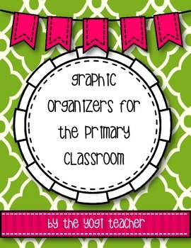 Graphic Organizers for Elementary Teachers mini-pack, Comm
