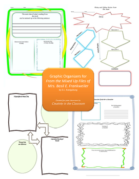 Graphic Organizers for From the Mixed-Up Files of Mrs. Bas