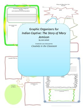 Graphic Organizers for Indian Captive