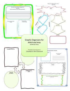 Graphic Organizers for Mitch and Amy