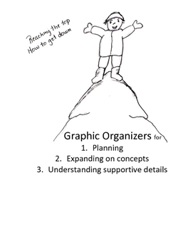 Graphic Organizers for Planning, Understanding Main Idea,