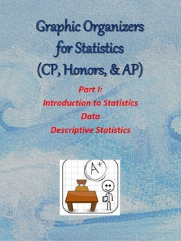 Graphic Organizers for Statistics 1 - Descriptive Statistics
