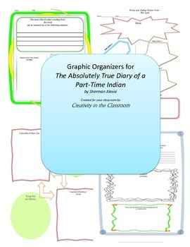 Graphic Organizers for The Absolutely True Diary of a Part
