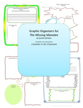 Graphic Organizers for The Missing Manatee