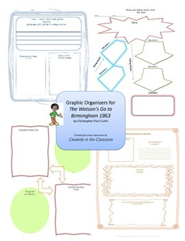 Graphic Organizers for The Watsons Go to Birmingham 1963