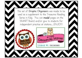 Graphic Organizers for Treasures BUNDLE {SS through U6}