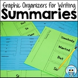Graphic Organizers for Writing Summaries