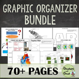 Biology Graphic Organizer Bundle- Cells, Photosynthesis, 6