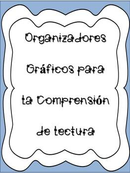 Graphic Organizers for different strategies - Organizadore