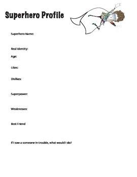 Graphic novel worksheets