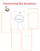 Graphic organizers for asking and answering questions for