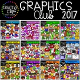 Graphics Club 2017 {Creative Clips Digital Clipart}