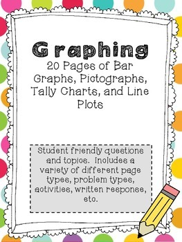 Graphing: Bar Graphs, Pictographs, Line Plots, Tally Charts