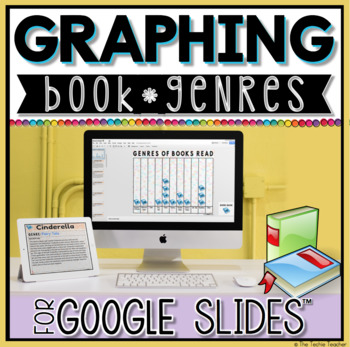 Graphing Book Genres in Google Slides Digital Reading Log