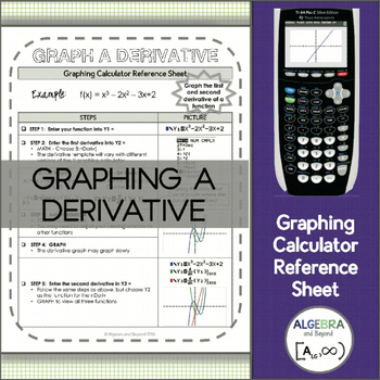 Graphing Calculator Reference Sheet: Graph a Derivative