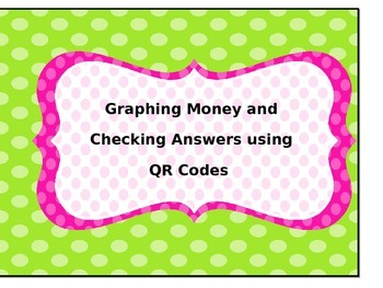 Graphing Coins using QR Codes