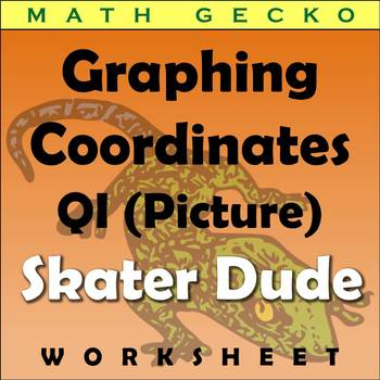 #070 - Graphing Coordinates Picture (Skater Dude)