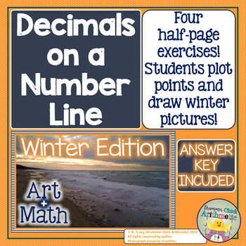 Graphing Decimals on a Number Line - Positive Numbers (Win