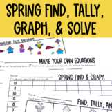 Graphing: Find, Tally and Graph- Spring