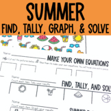 Graphing: Find, Tally and Graph- Summer
