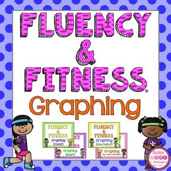 Graphing Fluency & Fitness Brain Breaks Bundle
