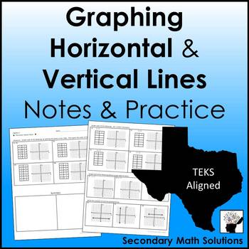 Horizontal and Vertical Lines Notes & Practice