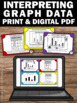 Interpreting Bar and Picture Graphs Task Cards 3rd Grade M