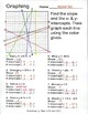 Graphing Linear Equations, By Color, Finding Slope and X-
