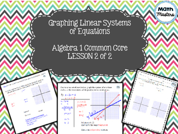 Graphing Linear Systems of Equations Lesson 2 of 2