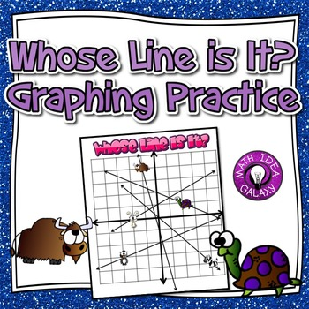 Graphing Lines Activity in Slope Intercept Form 1