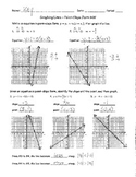 Graphing Lines Point-Slope Form Homework ANSWER KEY