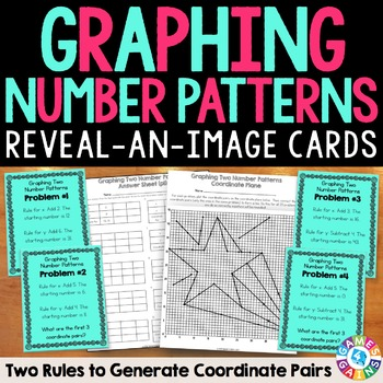Graphing Number Patterns on the Coordinate Plane (5.OA.3)