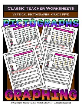 Graphing - Pictographs (Vertical) - Grade Five (5th Grade)
