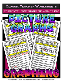 Graphing - Picture Graphs (Horizontal) - Grade Two (2nd Gr