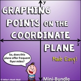 Graph Points on the Coordinate Plane (Mini Bundle)