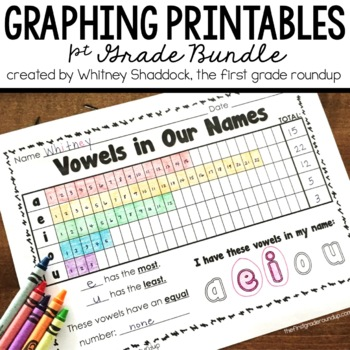 Graphing Printables BUNDLE for K-2