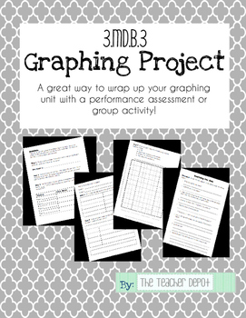 Graphing Project ~ Performance Task or Partner Project ~ 3.MD.B.3