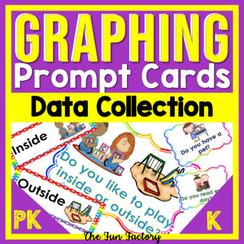 Graphing Prompts for Pre-K & Kindergarten