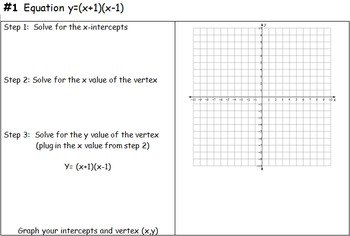 Graphing Quadratics in Standard Form and in Factored Form