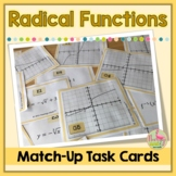 Graphing Radical Functions Match-Up Activity