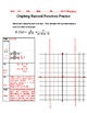 Graphing Rational Functions Practice