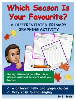 Graphing - Season We Like The Best - 4 pages (Differentiat