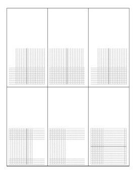 Graphing Sheet- blank