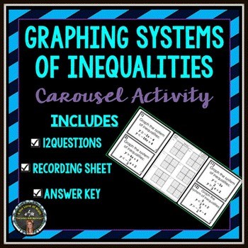 Graphing Systems of Inequalities: Carousel Activity